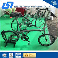 high quality titanium folding bicycle in china