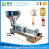 Low cost manual pneumatic filling machine for paste ketchup cream
