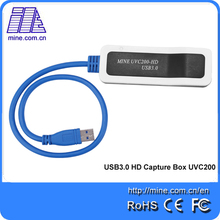 Wholesale usb capture card UVC200-HD hdmi laptop video capture box 1080p