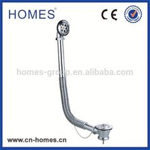 The Cheapest Basin Plug Brass Copper Waste Chrome Plated Brass Pipe