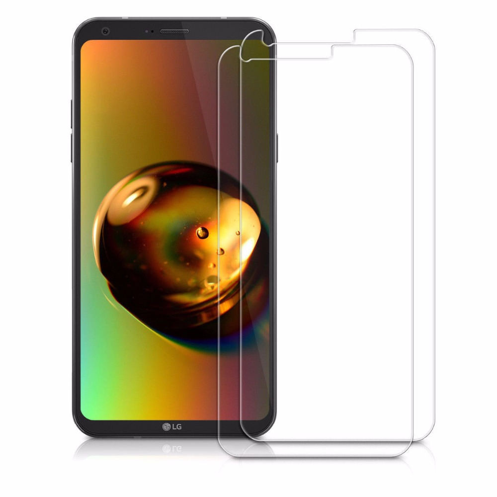 100% Genuine explosion proof tempered glass screen guard for LG Q6