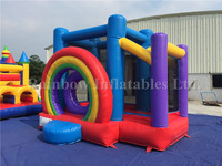 Rainbow Cheap Inflatable Bouncers For Sale