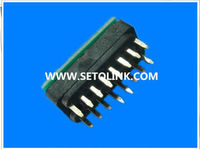 2014 HOT SALE AUTO OBDII 16 PIN MALE CONNECTOR CORE WITH PCB IN THE BACK
