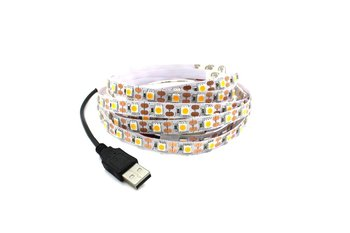 power charge DC 5V USB LED strip light 1m 0.5m