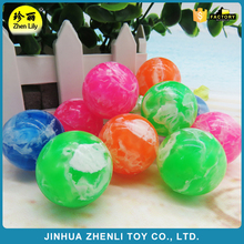 Classic toy 27mm32mm45mm soft rubber toys cloud ball high bounce jumping ball for kids