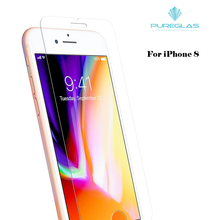 9h wholesale price anti scratch tempered glass screen protector for iphone 8 screen guard