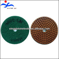 Resin diamond marble grinding polishing pads