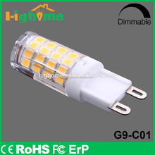 LED bulb housing G9 led Bulb light low Power dimmable color changing