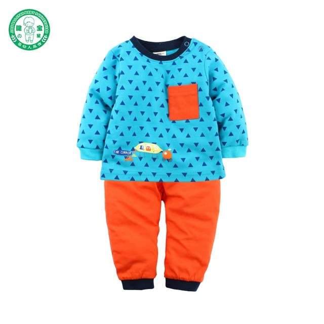 Stock items baby pyjamas long sleeve casual baby cloth