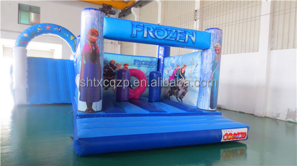 PVC tarpaulin princess theme inflatable boucy castle for kids