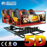 Factory direct, quality assurance, best price 24 seats 5d dynamic cinema