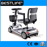 2 seat electric mobility scooter with CE approved for disabled and handicapped