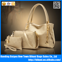 Alibaba China Women Shouder Handbags Purse Leather Ladies Messenger Bag