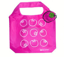 Hot folding fruit shape reusable promotion eco friendly shopping bag
