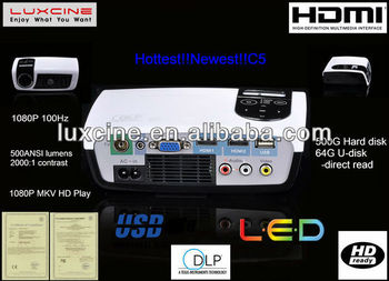 Newest! C5 projectors high resolution