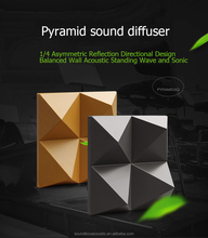 Trending product 3D decorative acoustic diffusion panel board for small place wall and ceiling sound diffussion