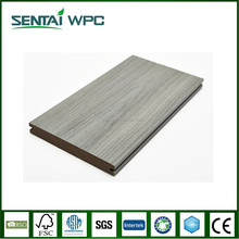 Co-extrusion wpc wood look solid interlocking floor