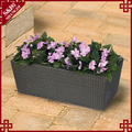 Wholesales garden plastic planter box for flowers and plants
