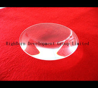 excellent quality colorless optical convex lens