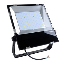 130LM/W led slim flood light fixture 150W for outdoor