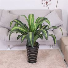Manufacturer super quality bright green artificial banana tree for christmas decoration