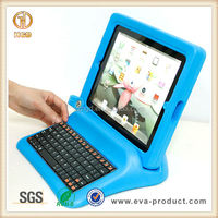 Hot sell Falling-proof & Shockproof Eva Case for Ipad 2 3 4 with keyboard