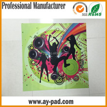 AY Custom Rollable Colorful Music Dance Mat And Game Card Game Mat Rubber Play Mat