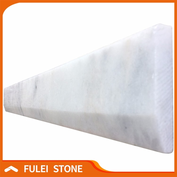 Wholesale price polished white marble door threshold