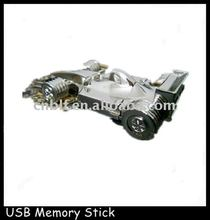 newest design 2gb racing car thumbdrive, car usb flash drive OEM