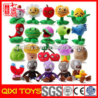 Plants VS zombies Soft Stuffed Plush Kids Toys for Collection