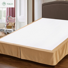 best selling china manufacture polyester hotel bed skirt