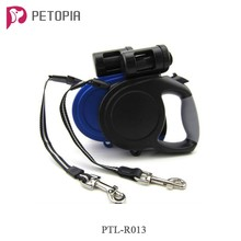 Wholesale 8M 26ft Retractable Dog Pet Leash Lead with Waste Poop Bags