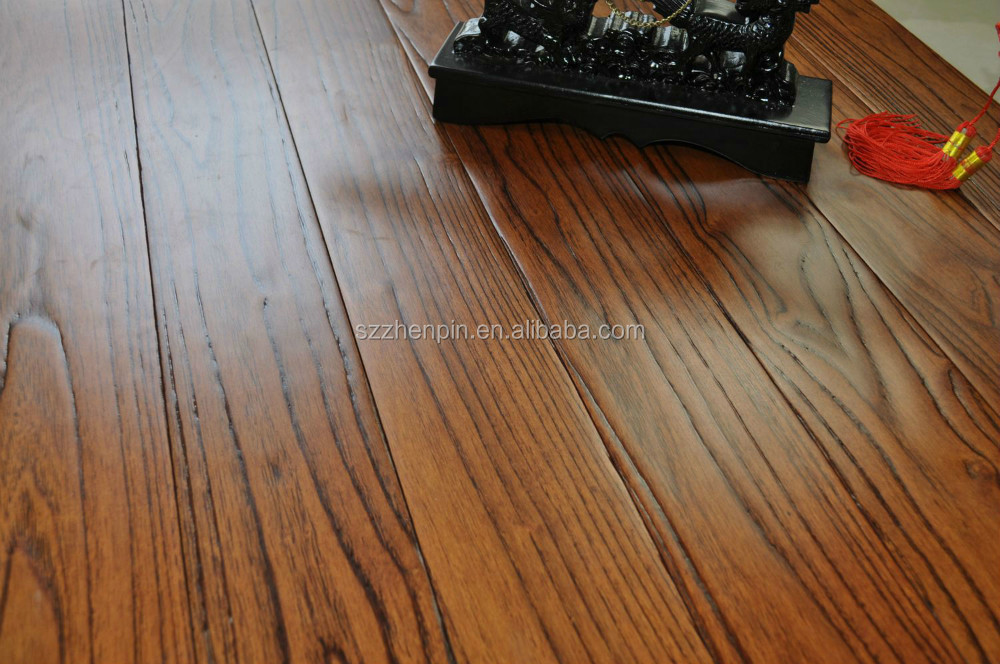 Solid wood catbrier teak flooring chinese oak