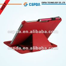 red Folio PU leather Case for Kindle Fire HD 7 Inch Tablet Cover/for Amazon Kindle fire 2 cover