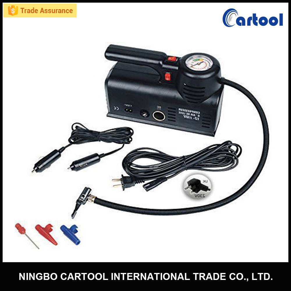 portable car tire inflator 12v mini air compressor 220v