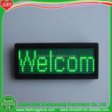 Programmable LED Name Badge magnetic name badge scrolling led name badge