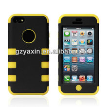 New pattern universal robot case for Apple iphone 5 5s 5c,hole color case for iphone 5c