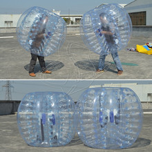 GMIF Hot selling Half inflatable human sized clear PVC body zorb ball for kids and adults