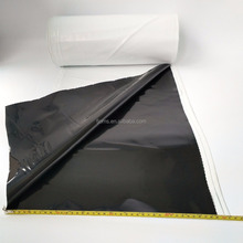 agricultural black and white film UV resistant plastic sheeting greenhouse