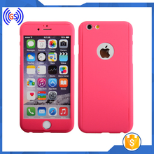 360 All Round Protective Case for iPhone 6S 4.7 Ultra Thin Full Body Covered PC Snap On Phone Case