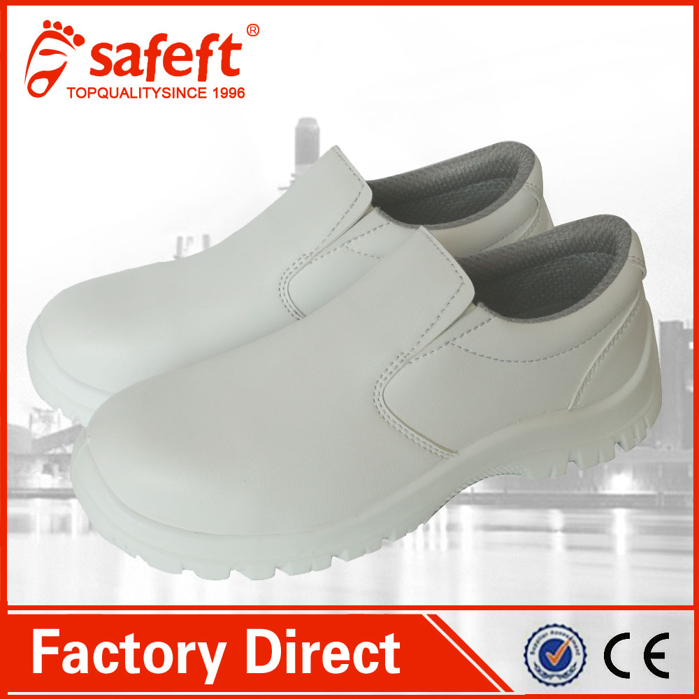 white nursing esd kitchen chef clogs safety shoes