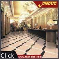 Foshan high gloss double loading floor tile price in india