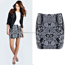 Huilin Apparel latest skirt design pictures of mature women in short skirts