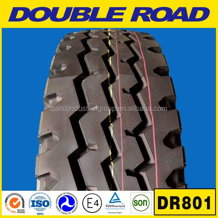 Chinese tire factory Double Road truck tyre 13r22.5