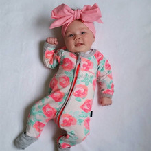 Romper in bulk baby floral cotton long sleeve unique baby names pictures