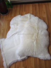 New style antique sheepskin panda rug