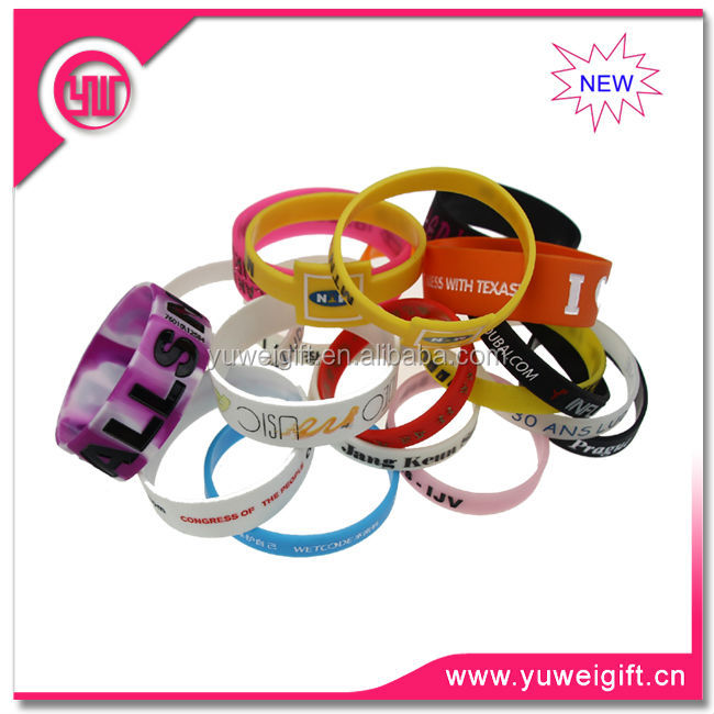 202 mm round logo printed soft silicon rubber band
