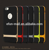 High quality rock case for iphone 6 plus,hybrid pc+tpu rock Case for iPhone 6 plus