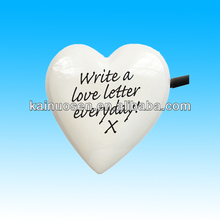 high quality heart ceramic notepad