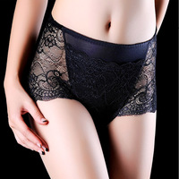 Underwear Women Black Fashion Transparent Lace Lady Briefs Hot Sexy Adults Panties